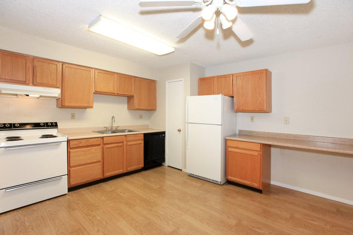 There is plenty of counter space at Prescott Pointe