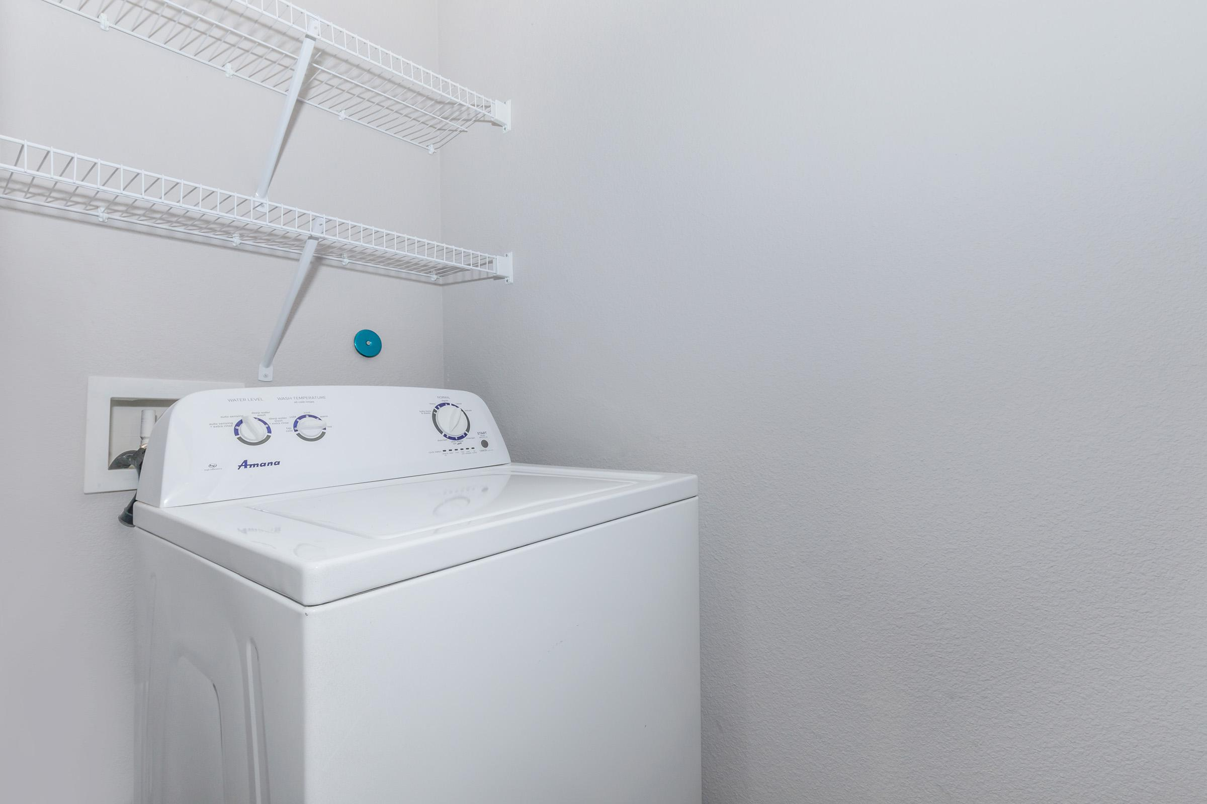 IN-HOME WASHER AND DRYER AT REATA WEST APARTMENTS