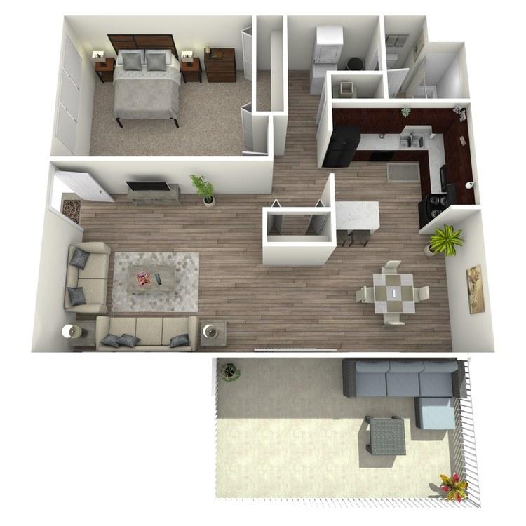 Floor plan image of The Hideaway