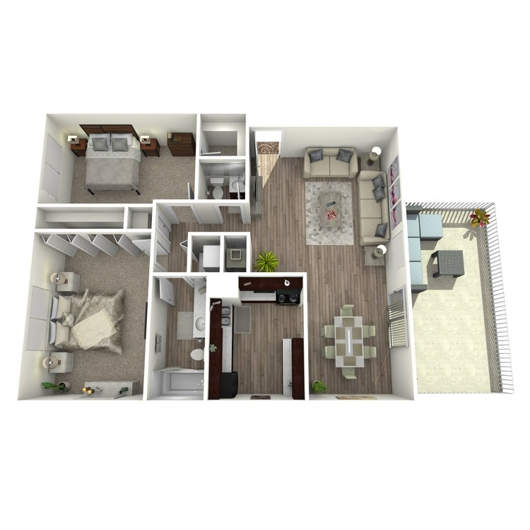 Floor plan image of The Islander