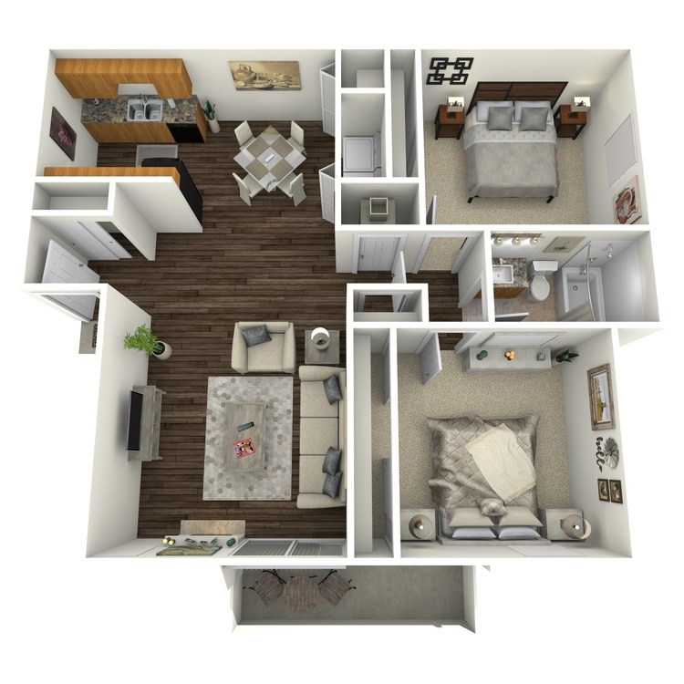 Floor plan image of Ruby