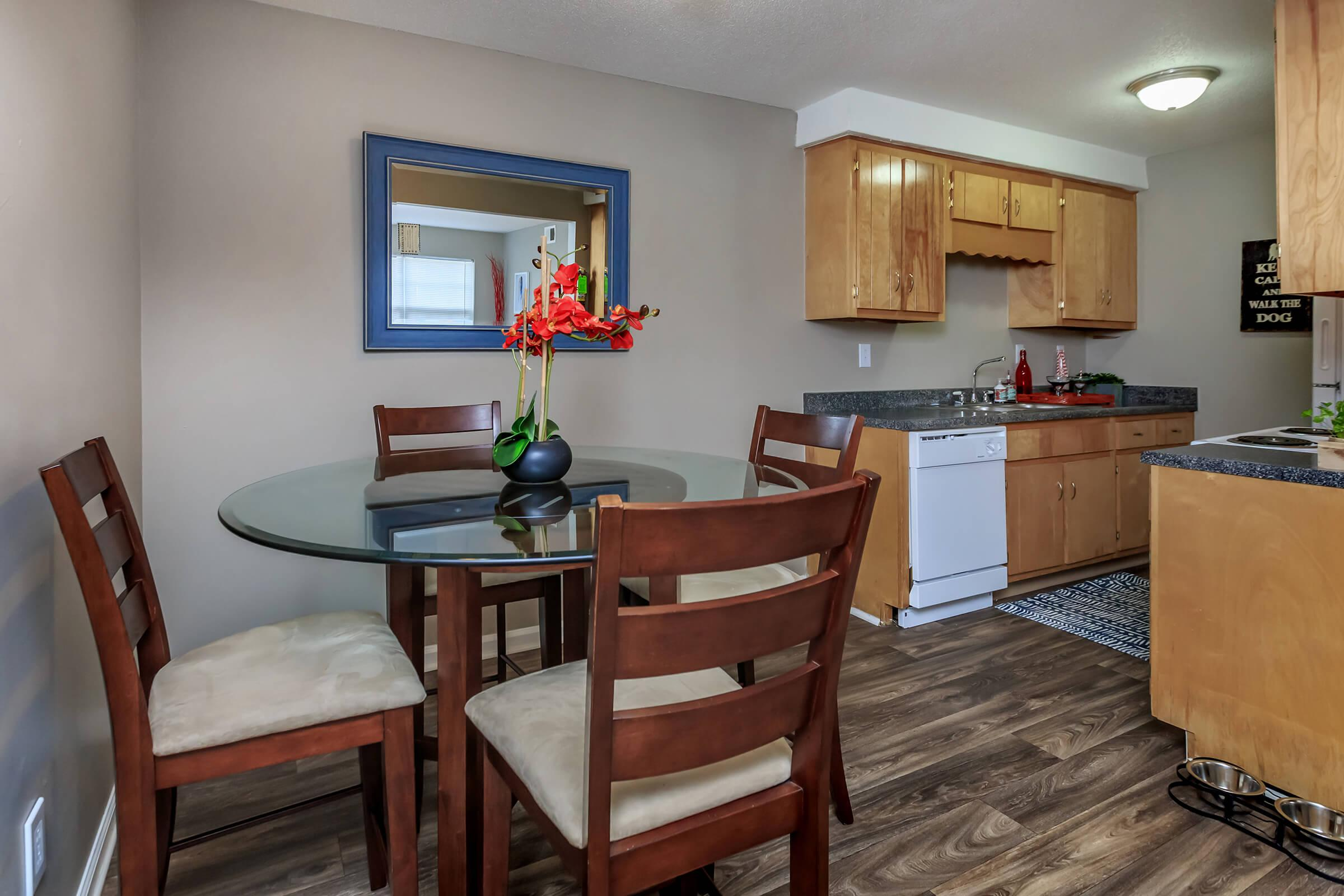 Eagles Crest at Durrett has Kitchens Equipped with Stove