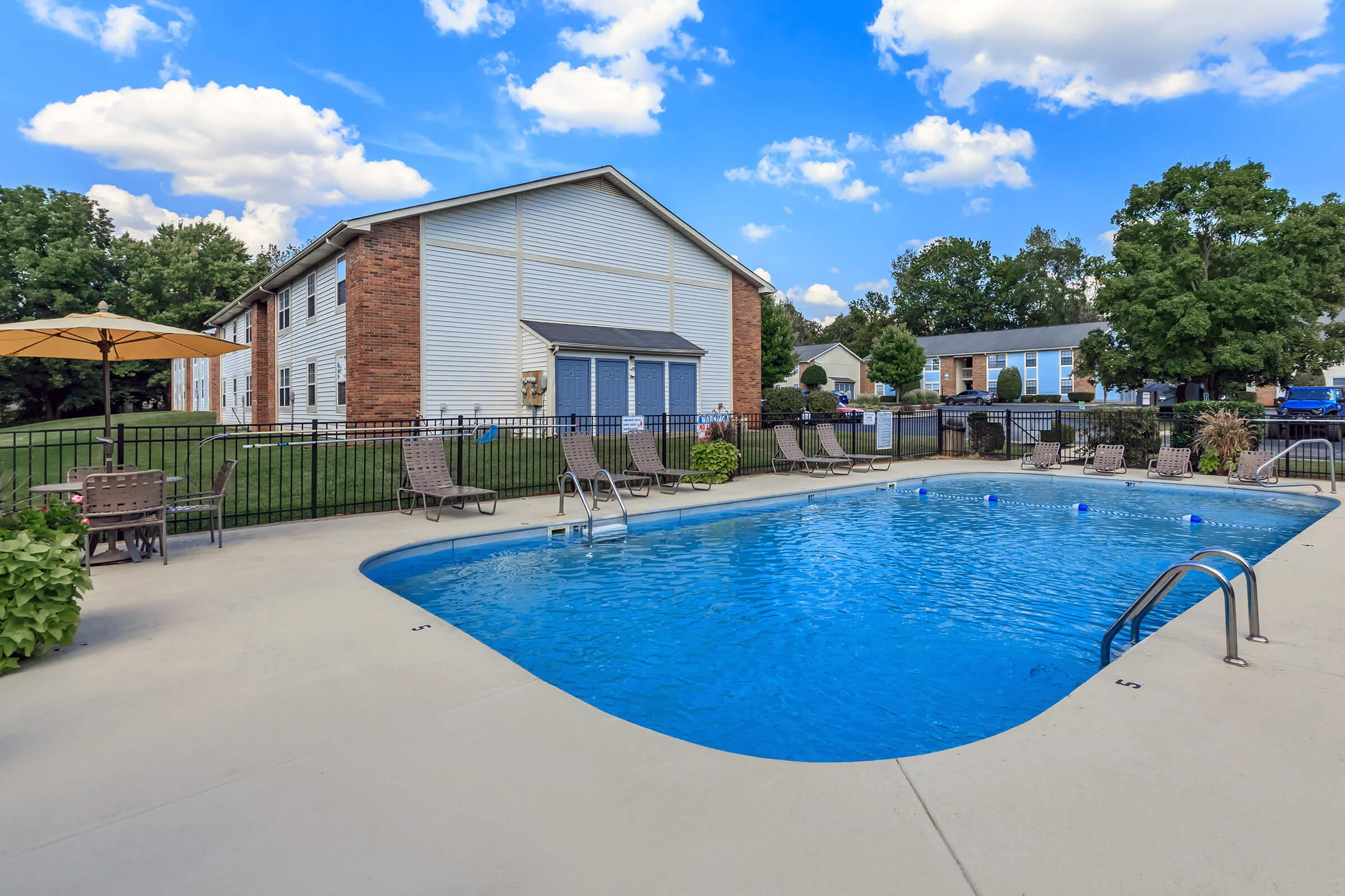 Sparkling Swimming Pool in Clarksville TN
