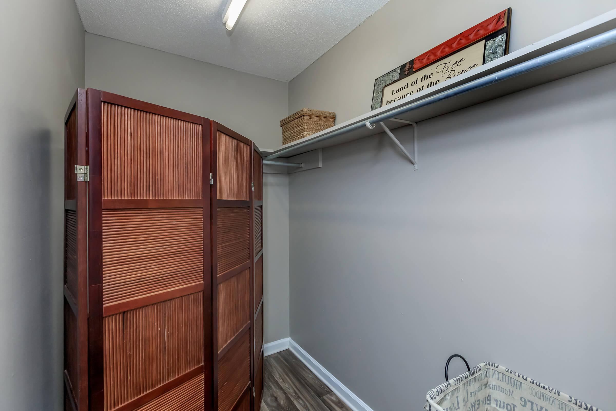 Eagles Crest at Durrett has Large Closets