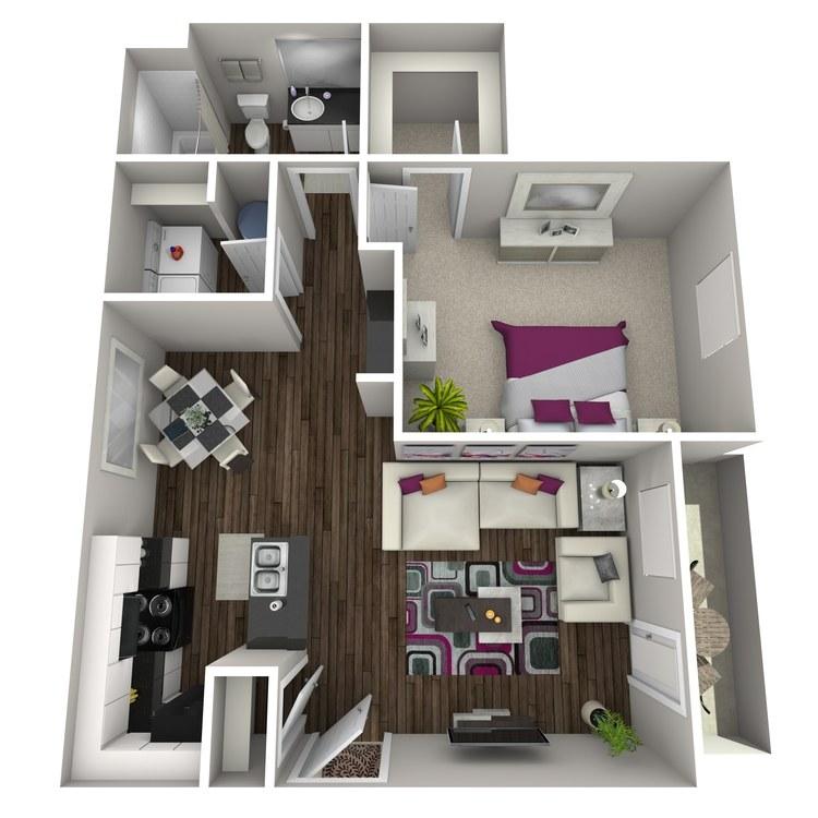 Floor plan image of Albizia