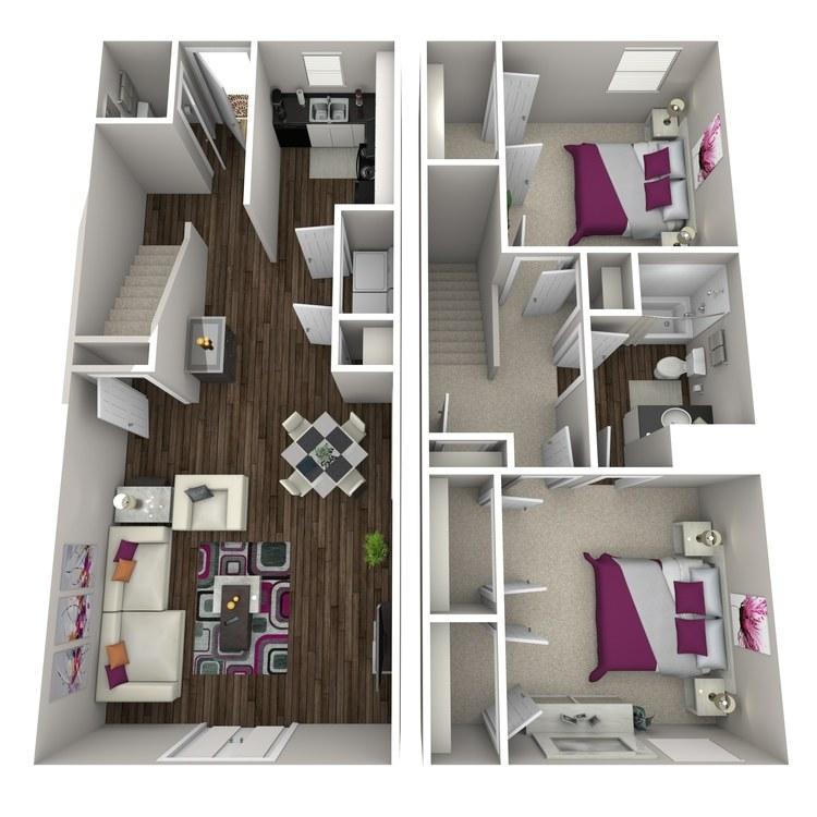 Floor plan image of Bamboo