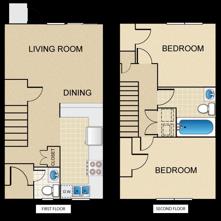 Floor plan image of Type 2