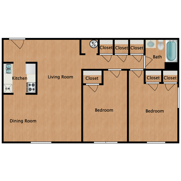 Floor plan image of The Charleston