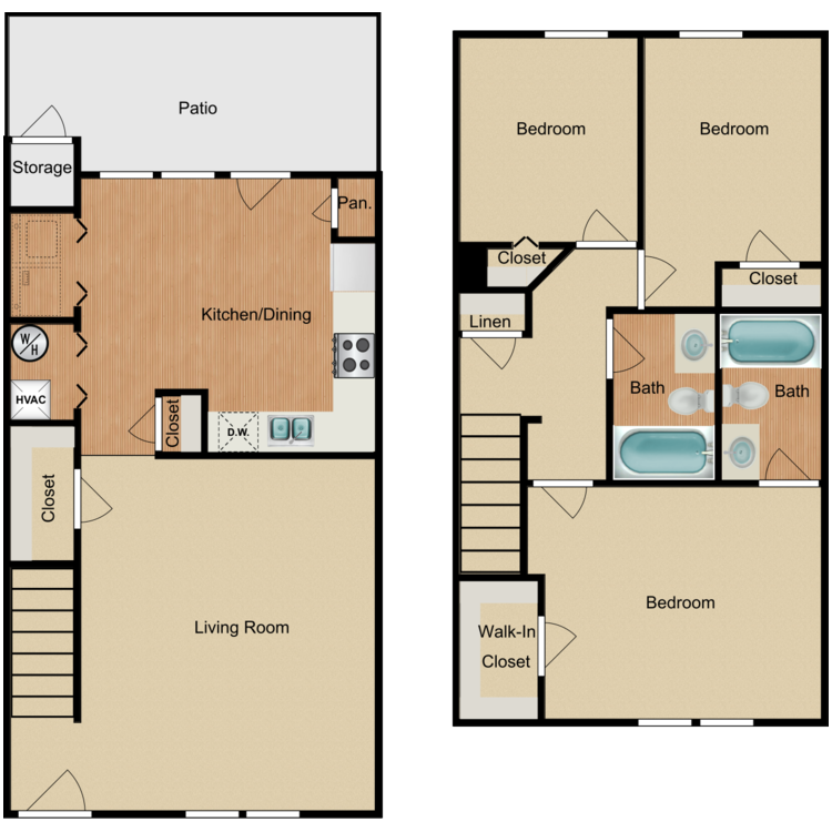 The Pine floor plan image