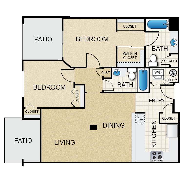 Floor plan image of Maple Leaf