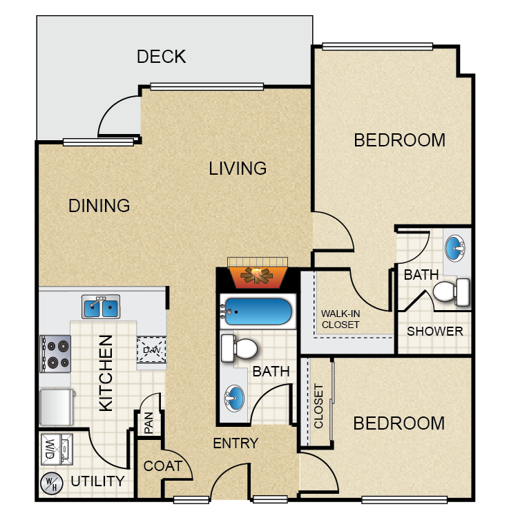 Floor plan image of Wallingford