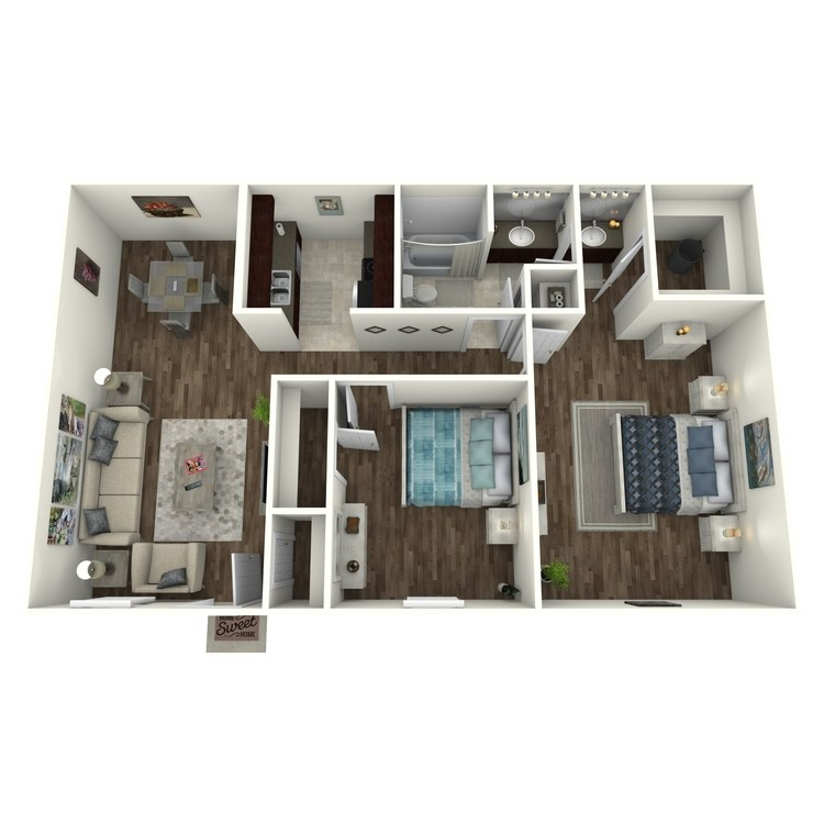 Aspen floor plan image