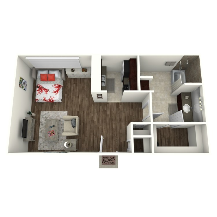 Elm floor plan image