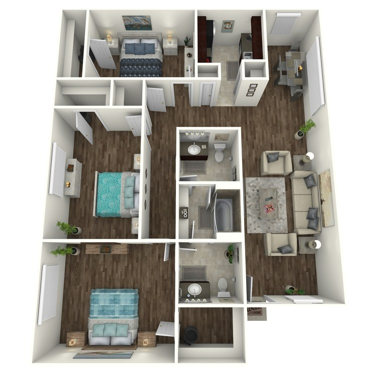 Redwood floor plan image