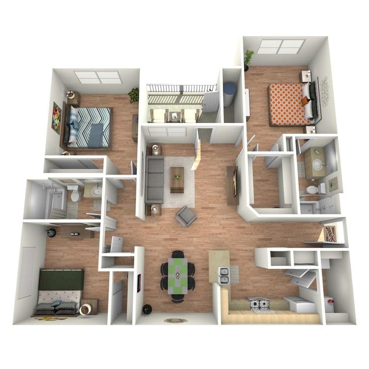 Floor plan image of Mesquite