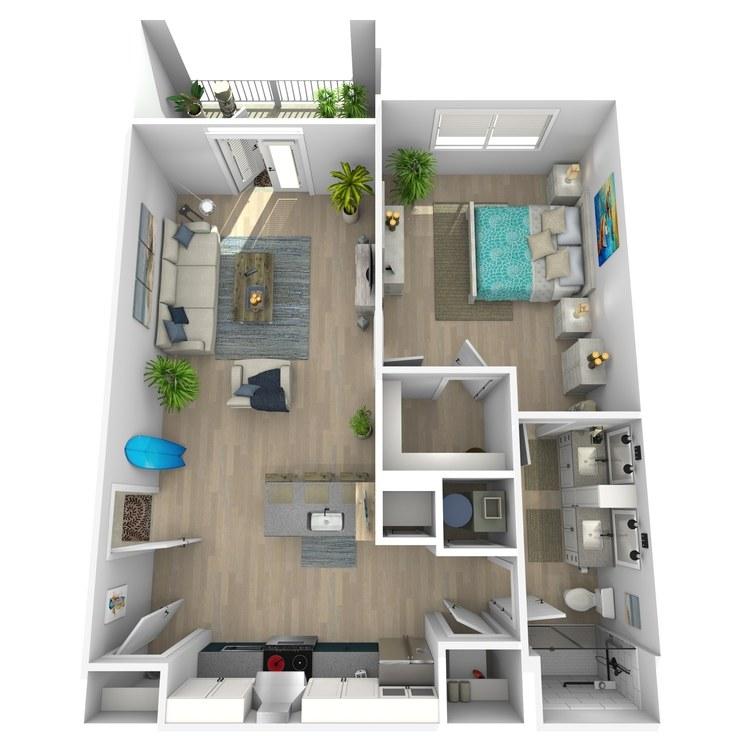 Floor plan image of Anderson
