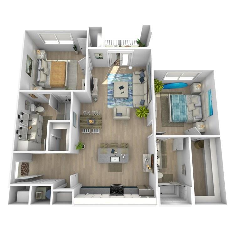 Floor plan image of Benny