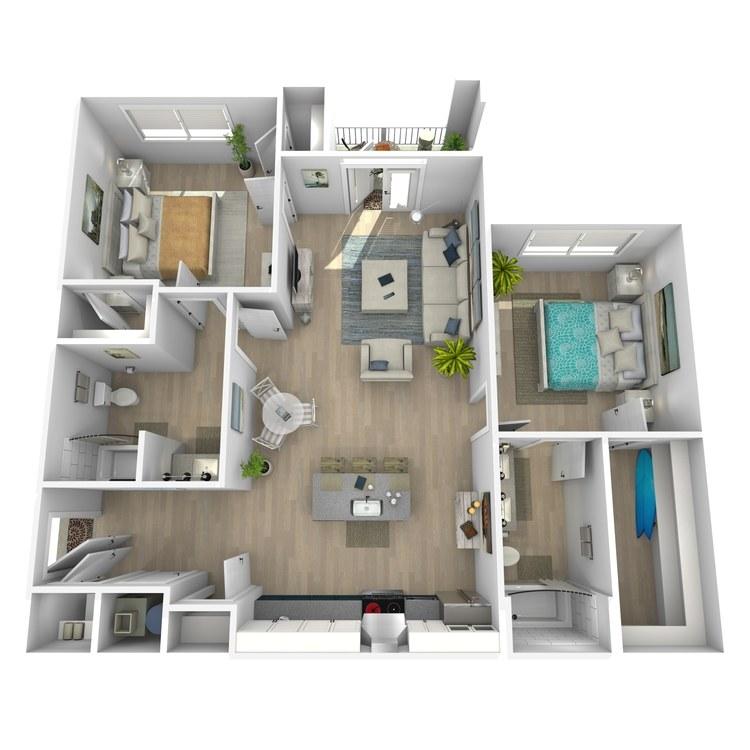 Floor plan image of Buzzy