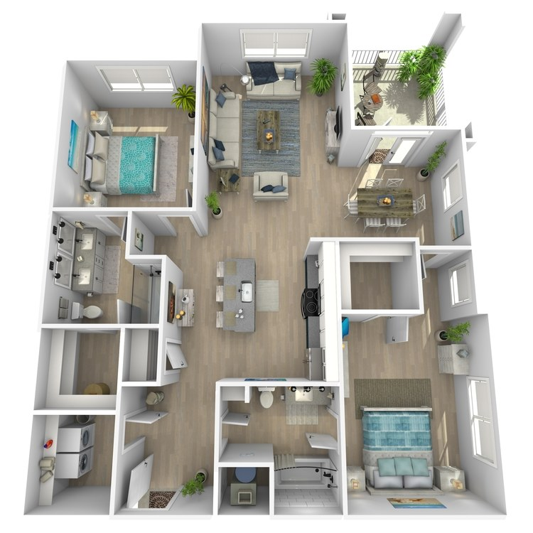 Floor plan image of Bailey