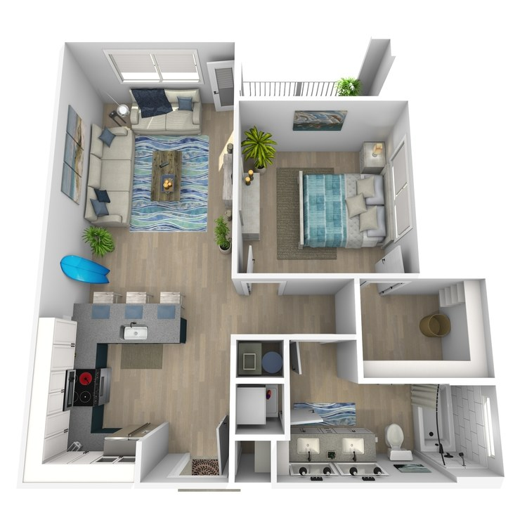 Floor plan image of Corky - Affordable