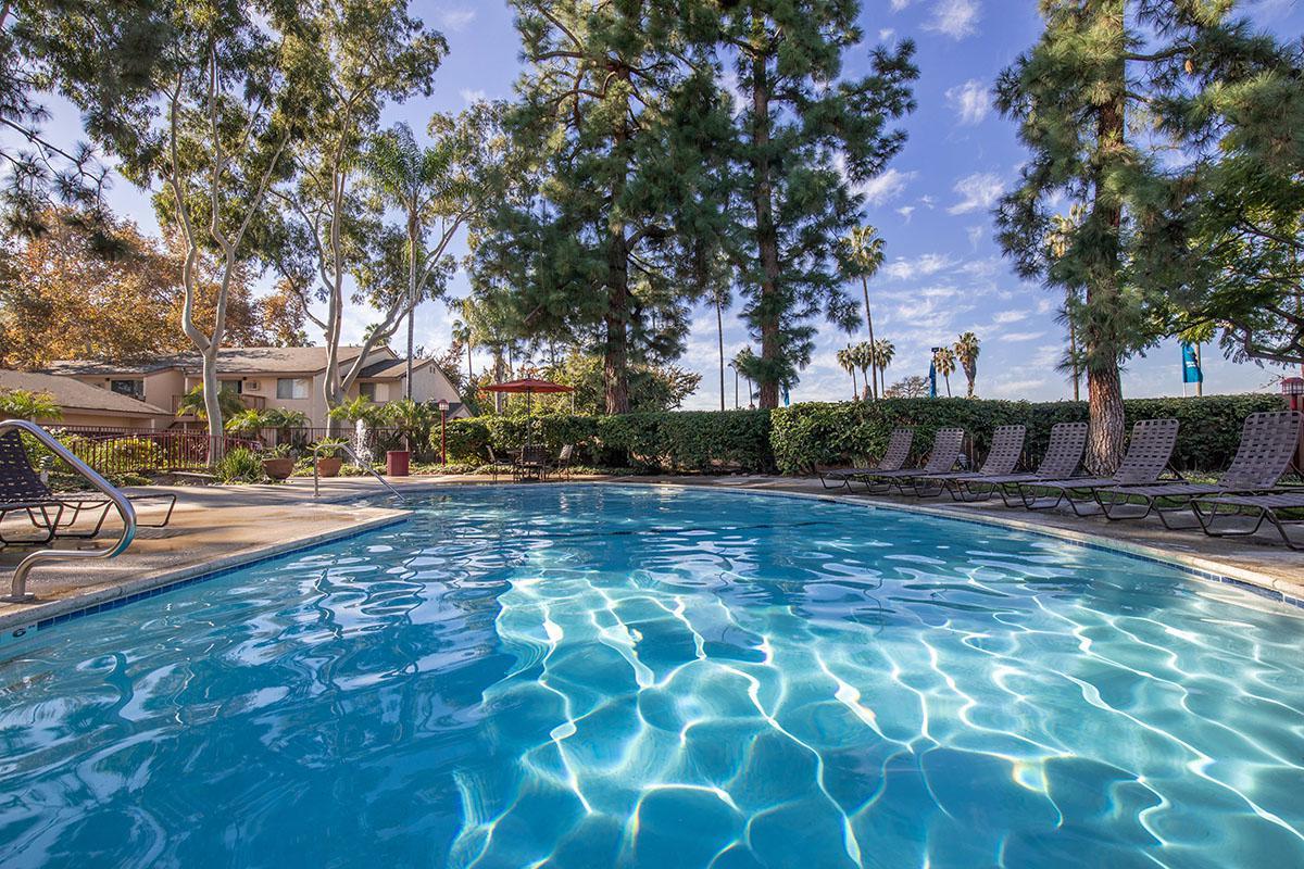 Villa Creek Apartment Homes community pool