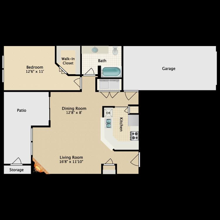 Floor plan image of Clipper