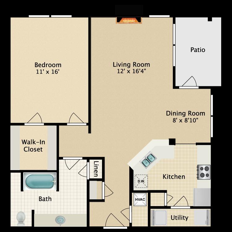 Floor plan image of Ketch