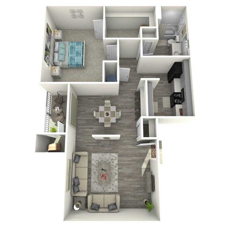 Floor plan image of La Vida