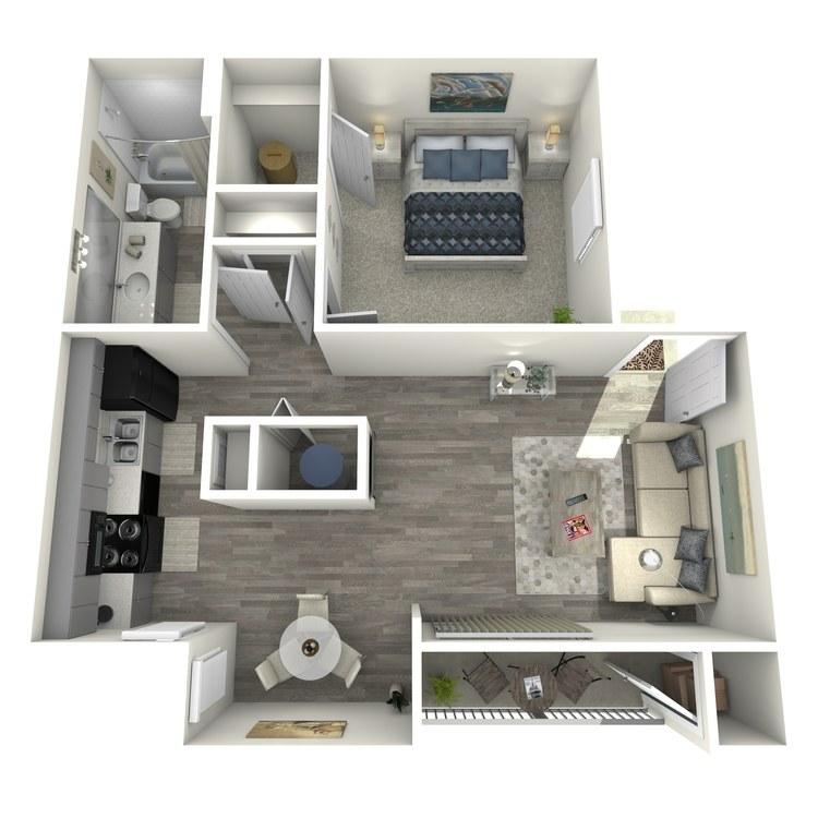 Floor plan image of La Buena