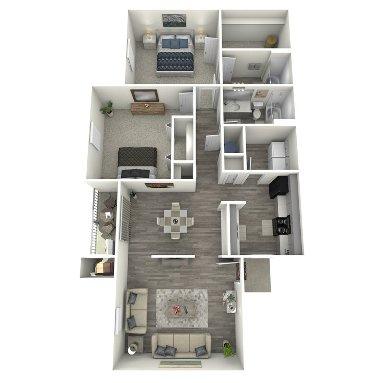 Floor plan image of El Cabo