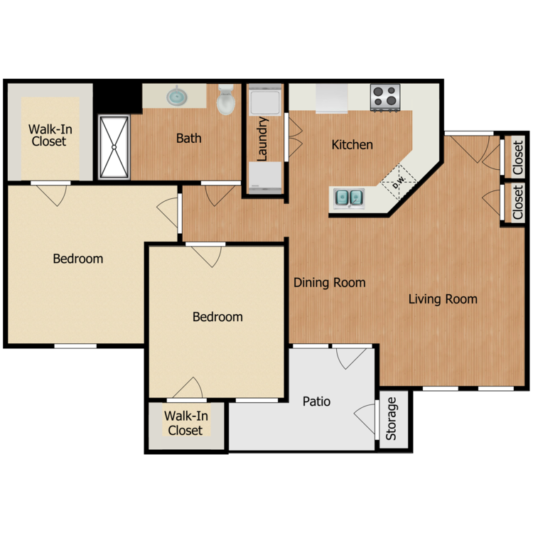 Floor plan image of Residence C1