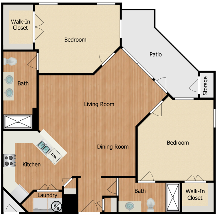 Floor plan image of Residence E2