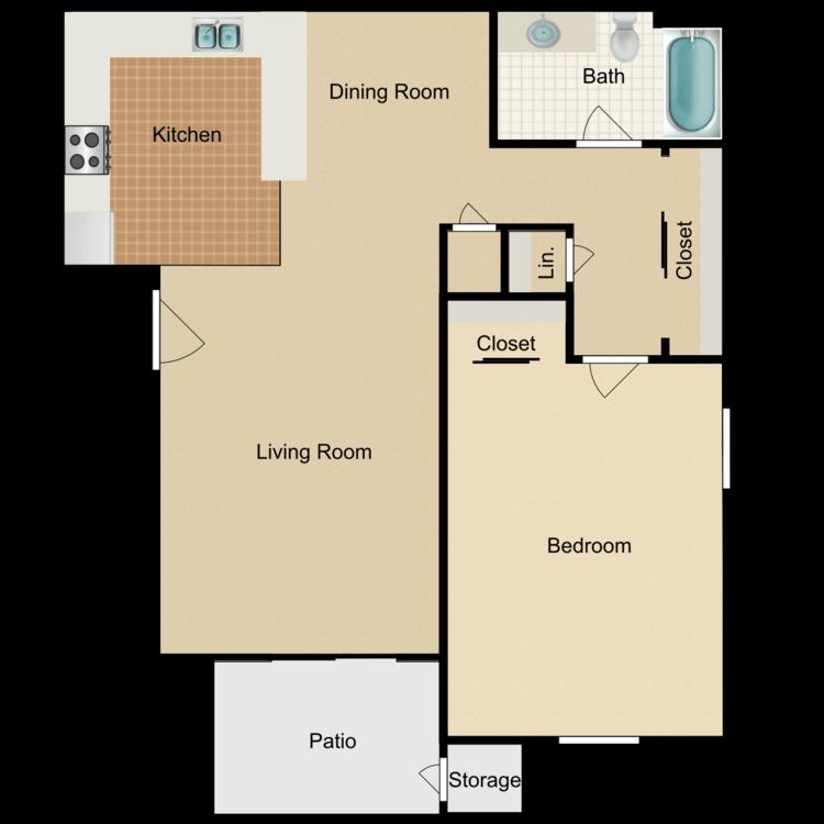 Floor plan image of Plan One