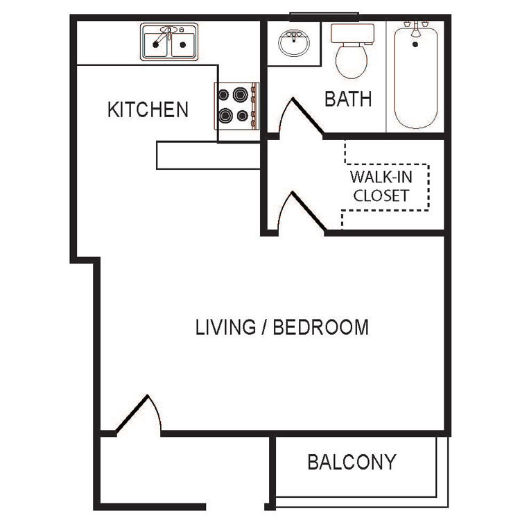 Small studio floor plans thefloors co for Small studio plans