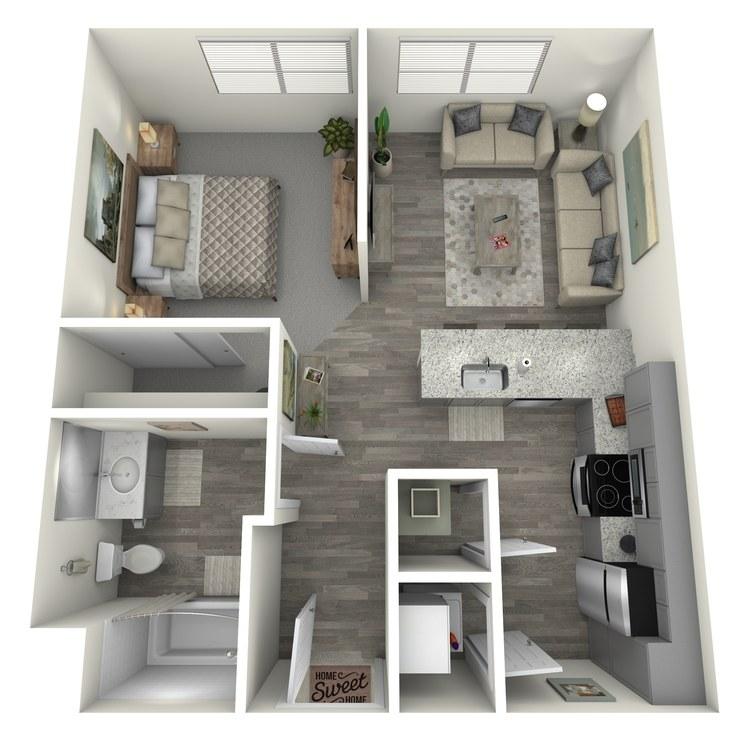 Floor plan image of Oxford
