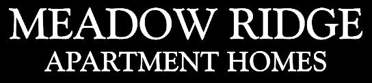 Meadow Ridge Apartment Homes Logo
