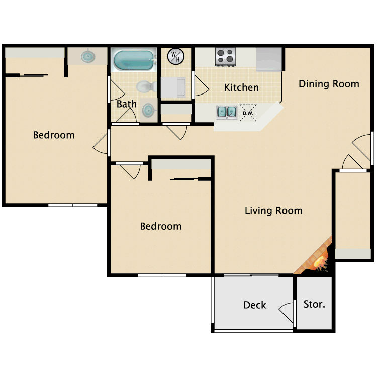 Floor plan image of Cedar