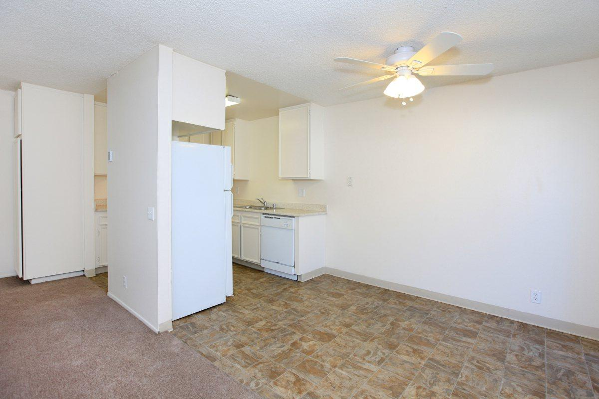 a large white refrigerator in a room