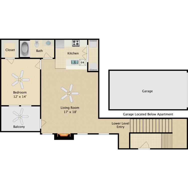 Floor plan image of Lombard