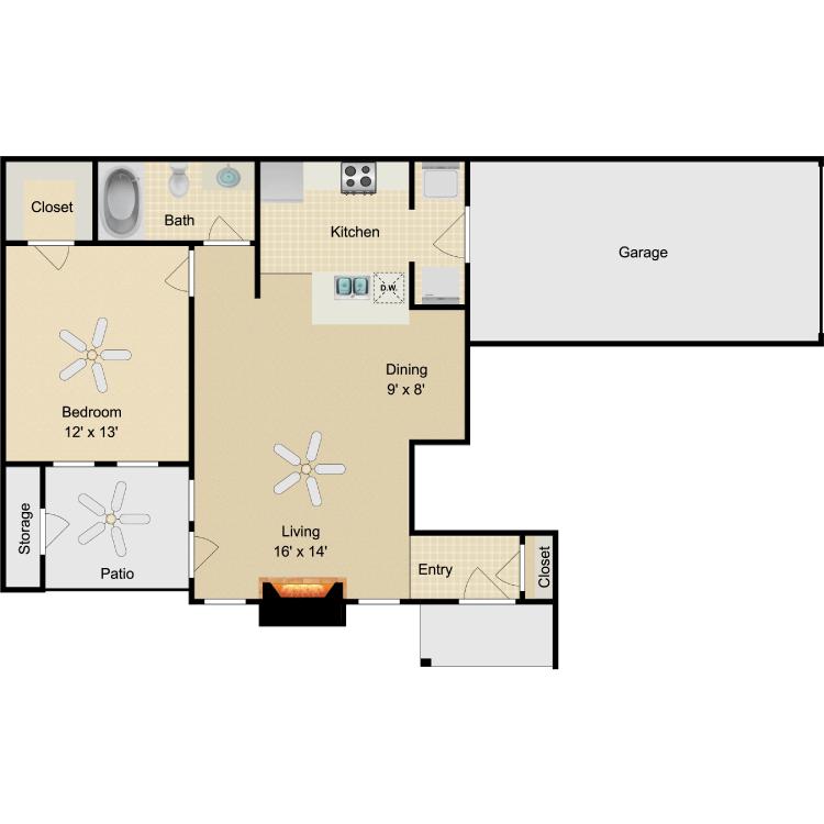 Floor plan image of Garbo