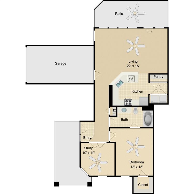 Floor plan image of Lindbergh