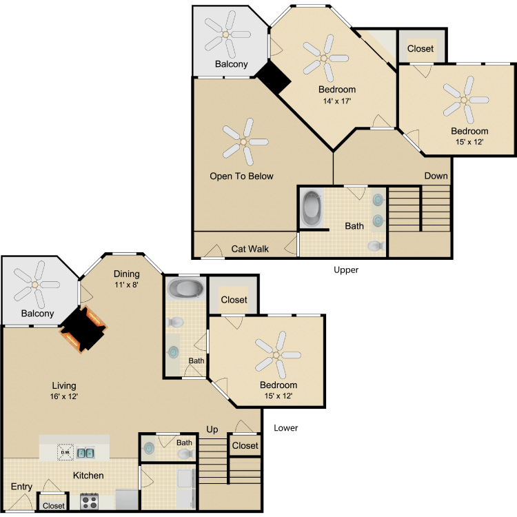 Floor plan image of Picasso