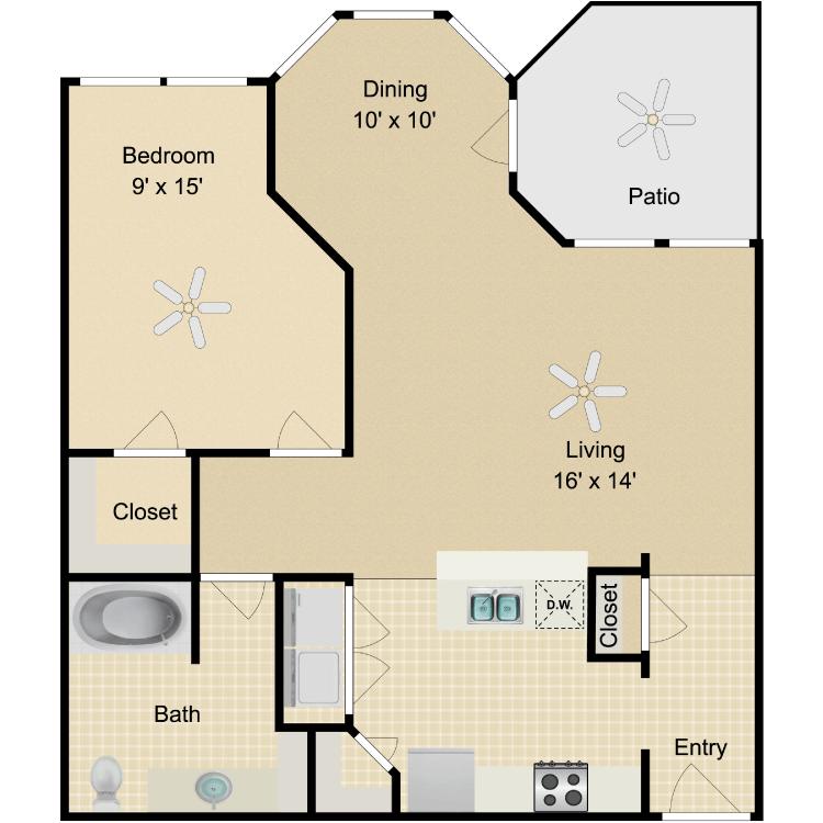 Floor plan image of Valentino