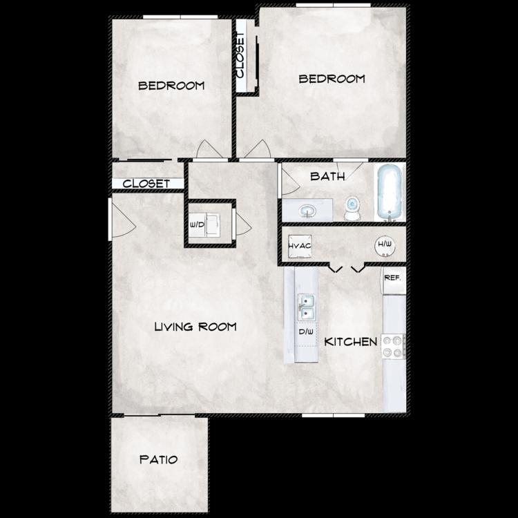 Floor plan image of Type 1