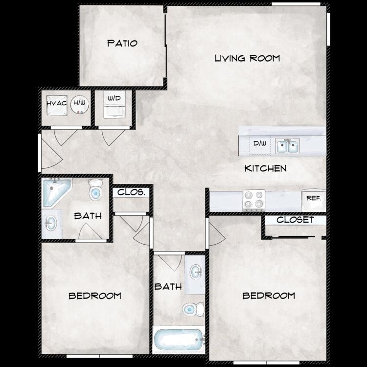Floor plan image of Type 3