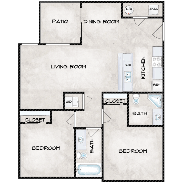 Floor plan image of Type 4