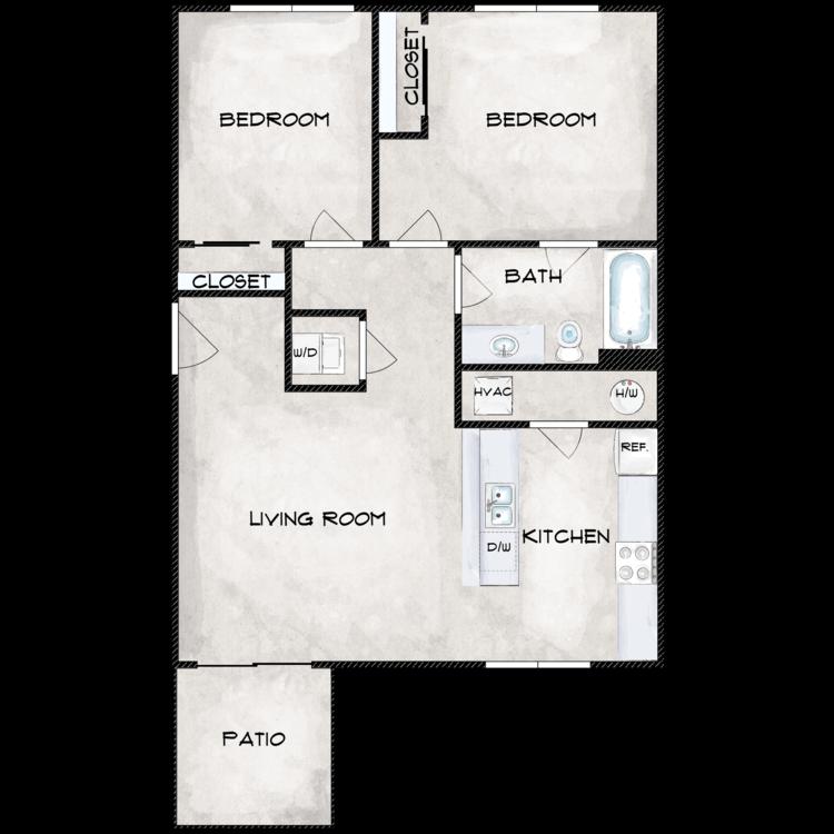 Floor plan image of Type 5