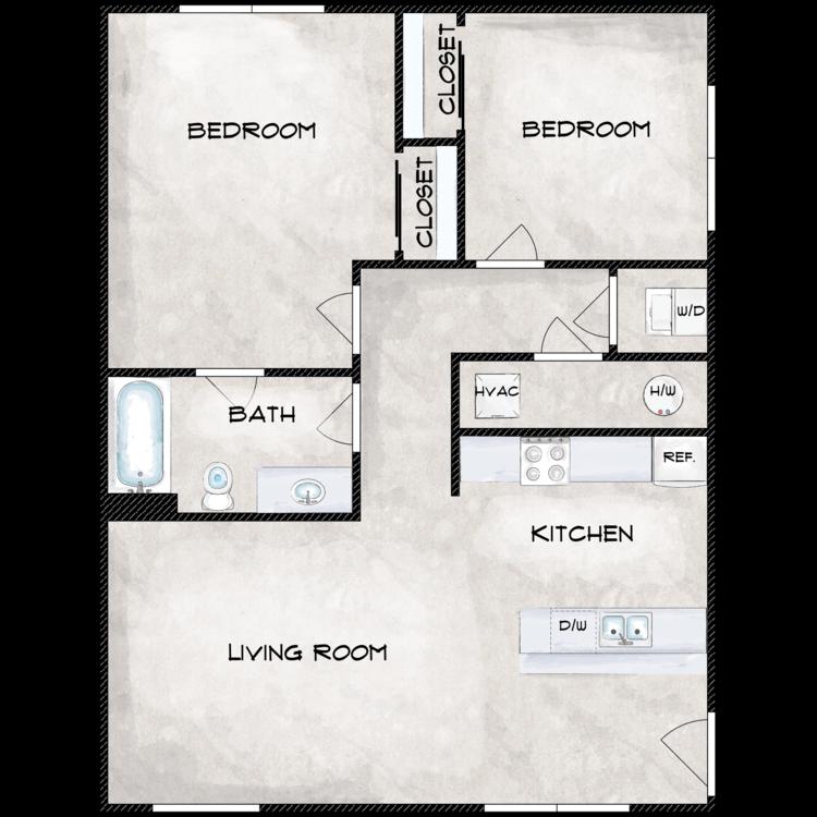 Floor plan image of Type 6