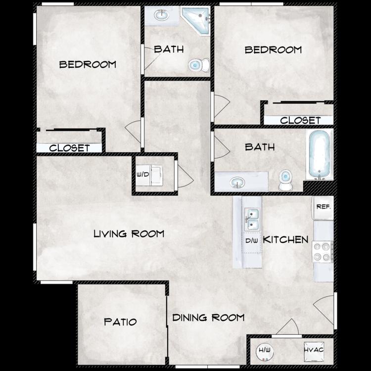 Floor plan image of Type 8