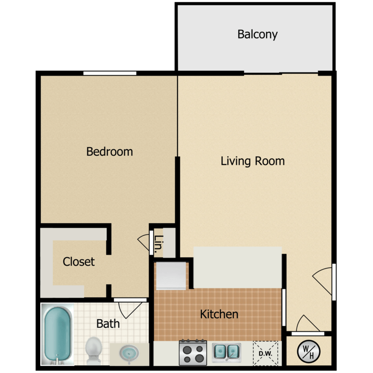 Floor plan image of Chalet
